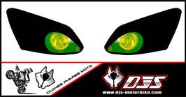 jeu de caches phares DJS pour YAMAHA R1 2007-2008 microperforé qui laissent passer la lumière - référence : r1-2007-2008-035-