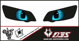 1 jeu de caches phares DJS pour Yamaha r1 de 2004-2006 microperforés qui laissent passer la lumière - référence : Yamaha r1 de 2004-2006-yeux modèle 15-