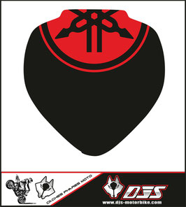 1 jeu de caches phares DJS pour YAMAHA FZ6 NACKED 2008 microperforés qui laissent passer la lumière - référence : FZ6-2008-002-