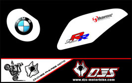1 jeu de caches phares DJS pour BMW S1000RR microperforés qui laissent passer la lumière - référence : S1000RR-2009-2014-009