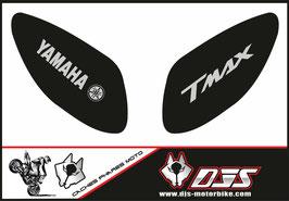 1 jeu de caches phares DJS pour Yamaha T MAX  2001-2008 microperforés qui laissent passer la lumière - référence : T MAX  2001-2008-001-