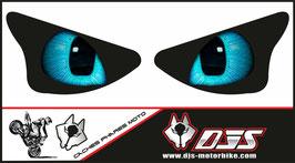 1 jeu de caches phares DJS pour 800 microperforés qui laissent passer la lumière - référence : yeux modèle 15-
