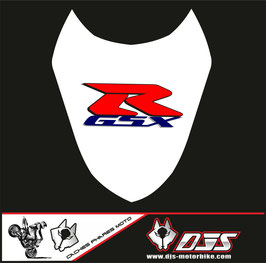 1 cache phare DJS pour Suzuki gsx r 1000 2003-2004 microperforé qui laisse passer la lumière - référence : gsxr 1000-2003-2004-002-