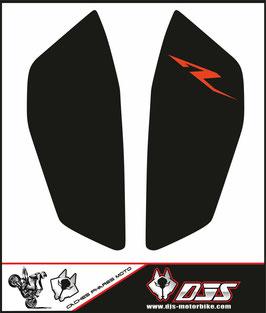 1 jeu de caches phares DJS pour KTM DUKE 890 2020-2021 microperforés qui laissent passer la lumière - référence : DUKE 890 2020-2021-008-