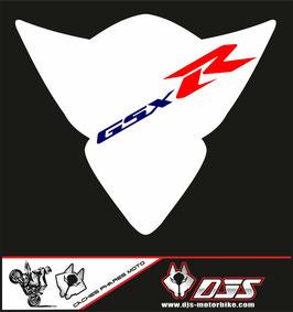 1 cache phare DJS pour Suzuki GSX-R 1000 2005-2006 microperforé qui laisse passer la lumière - référence : gsx-r-1000-2005-2006-002-