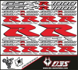 stickers en planche pour SUZUKI GSX-R 1000 MODELE 1 -