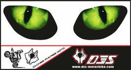 1 jeu de caches phares DJS pour SUZUKI SVS 1999-2002 microperforés qui laissent passer la lumière - référence :SUZUKI-SVS-1999-2002-005-