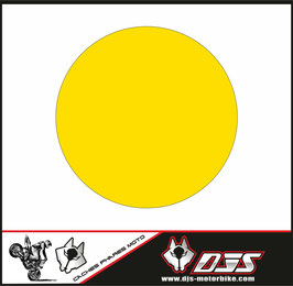 1 jeu de caches phares DJS pour YAMAHA XSR 900 2016-2021 microperforés qui laissent passer la lumière - référence : YAMAHA XSR 900 2016-2021-COULEUR UNIE-