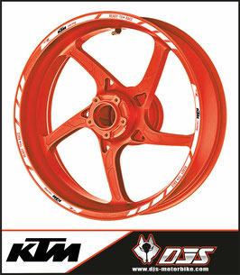 ADHESIFS  de jantes KTM READY TO RACE CLASSIC - JANTES 17 -
