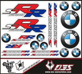 stickers en planche pour BMW S1000RR
