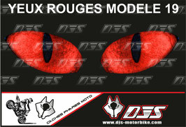 1 cache phare DJS pour SUZUKI GSX-R 1000 2007-2008 microperforé qui laisse passer la lumière - référence : yeux modèle 19-