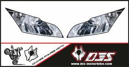 1 jeu de stickers DJS pour Kawasaki ZX10R 2011-2015 imitation phare a coller sur poly - référence : zx10r-2011-2015-imitation phare