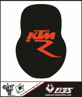 1 cache phare DJS pour KTM 990 super duke microperforé qui laisse passer la lumière - référence : ktm superduke 990-003-
