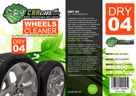 Dry4 - Wheels Cleaner - 500ml Sprühflasche