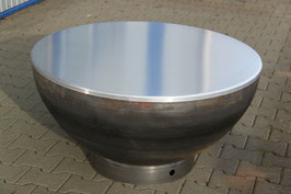 Aluminium-Abdeckungen zu MeWo-Grillkugel