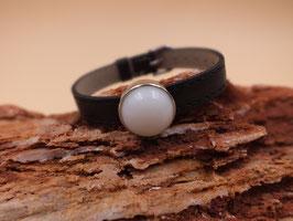 Armband Schiebeperle schwarz