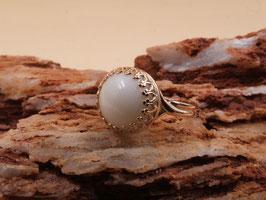 "Ring ""Krone"" in 925er Sterling Silber"