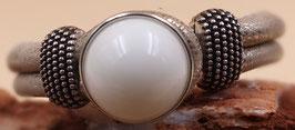 Armband EasyButton Beige- Metallic