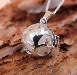 """Engelsrufer mini  """"Baum des Lebens"""" mit 12mm Perle in 925er Sterling Silber"""