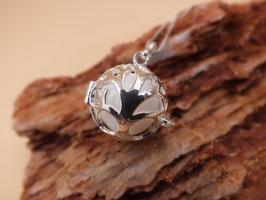 """Engelsrufer  """"Baum des Lebens"""" groß mit 20mm Perle in 925er Sterling Silber"""
