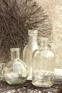 Trio de vases/bouteilles - Réf:VA022