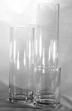 Lot de 3 vases cylindriques - Réf:VA011