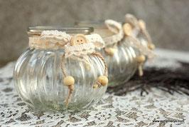 Vase boule vintage - Réf:VA021
