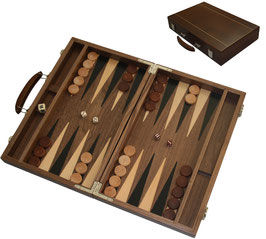 Backgammon-Koffer groß