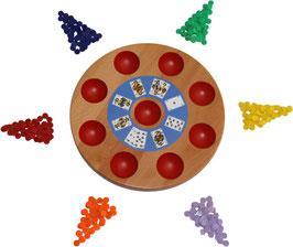 Brettspiel Pochen 1