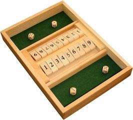 Shut the Box, Klappenspiel für 2 Spieler