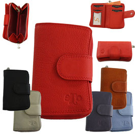 Damen Portemonnaie 2 aus echtem Leder