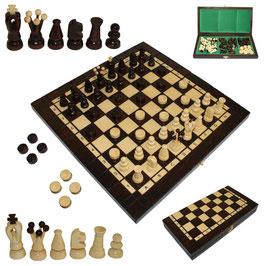 Schach mit Dame klein