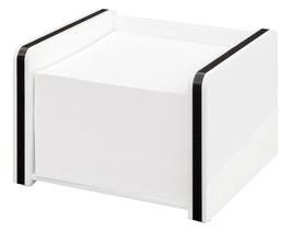 Zettelbox Montego inkl. 500 Blatt Papier