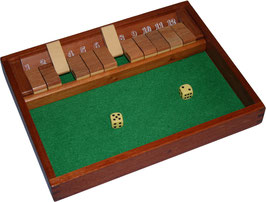 Shut the Box, Klappenspiel braun