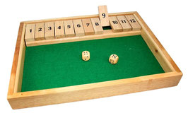 Shut the Box, Klappenspiel