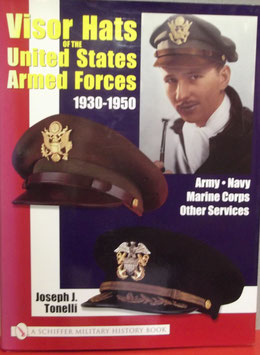 Visor hats of the United States  armed forces  1930 - 1950