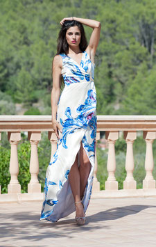 ABENDKLEID BLUE WAVE