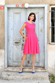 DRESS SWINGING PINK