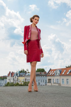 LEDERJACKE RED MOMENT