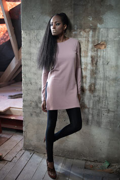 PULLOVER-KLEID ROSE WINTER