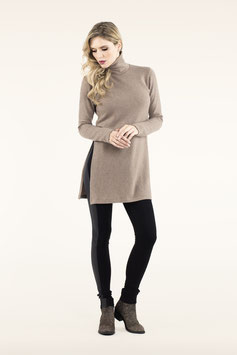 PULLOVER-KLEID WOOL MOOD BEIGE