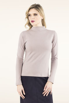 PULLOVER CUBE NECK ROSE