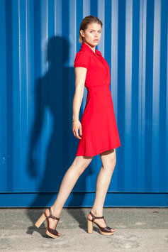 KLEID SUMMER FLOW RED