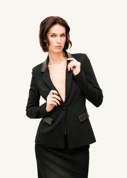 BLAZER BUSINESS BLACK