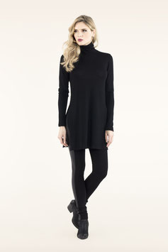 PULLOVER-KLEID WOOL MOOD BLACK