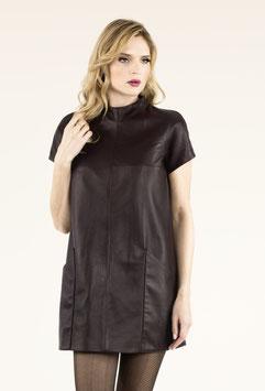 DRESS BLACK PURPLE