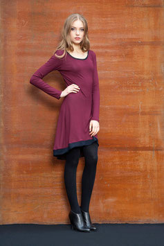 KLEID SWING IN WINE