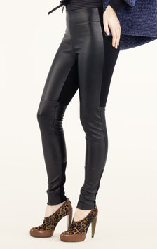 LEDER LEGGINGS BLACK THE KEY