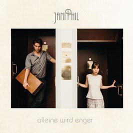 """JaniPhil """"alleine wird enger"""" -  Album"""