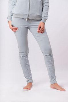 Yoga Sweat Pants (Baumwoll Hose) eisblau